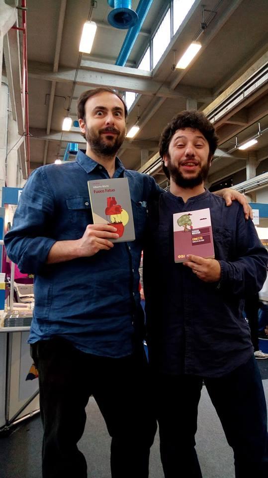 Una foto con l'amico Alberto non poteva mancare!