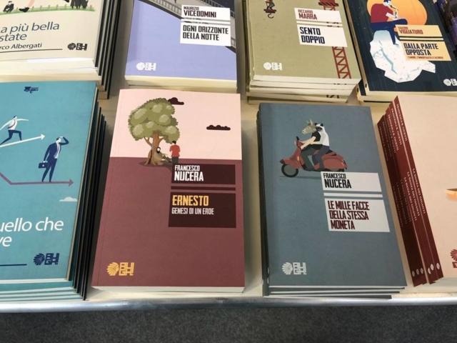 All'arrivo ho trovato i miei libri ad attendermi.